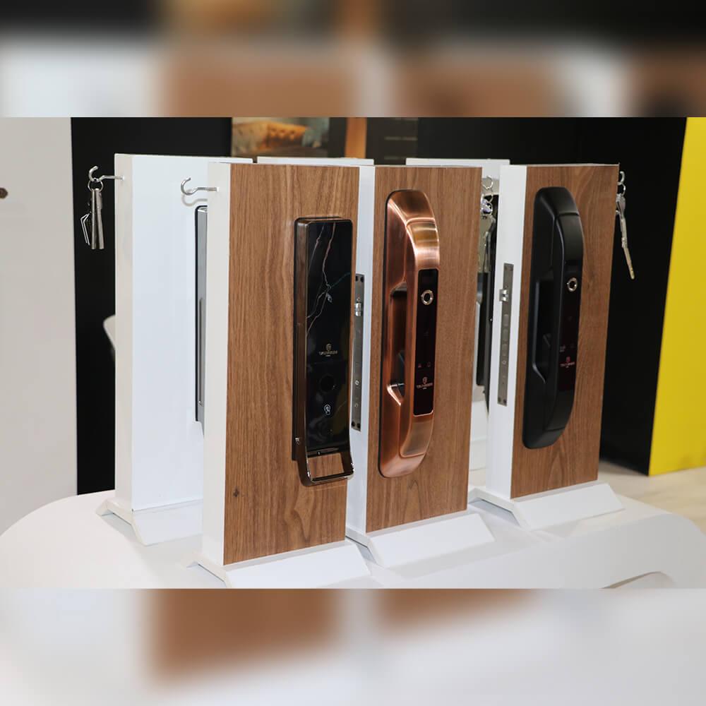 قفل های هوشمند تنسر لاک در بیستمین نمایشگاه صنعت ساختمان