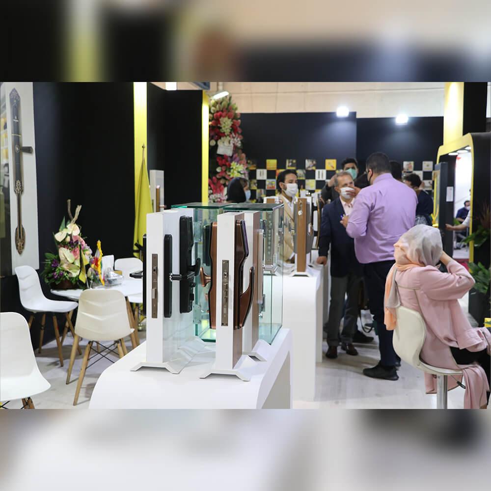 تنسر لاک در بیستمین نمایشگاه ساختمان